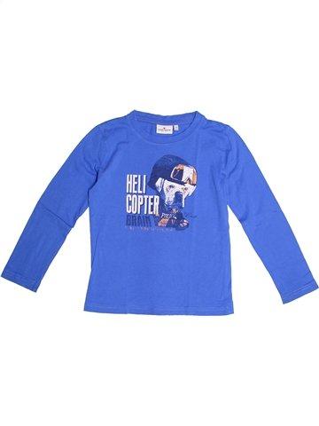 T-shirt manches longues garçon TOM TAILOR bleu 7 ans hiver #1246408_1