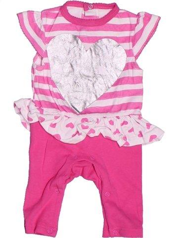 Combinación larga niña PEP&CO rosa 3 meses verano #1247446_1