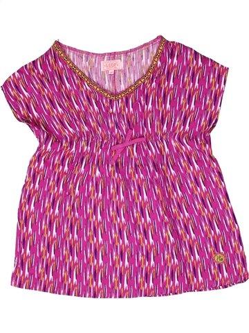Blusa de manga corta niña LA COMPAGNIE DES PETITS violeta 10 años verano #1250370_1
