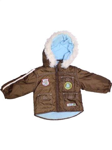 Manteau garçon BERTI marron 12 mois hiver #1250550_1