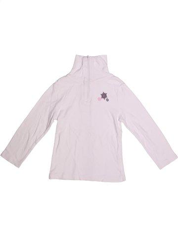 T-shirt manches longues fille ALIVE blanc 6 ans hiver #1251117_1