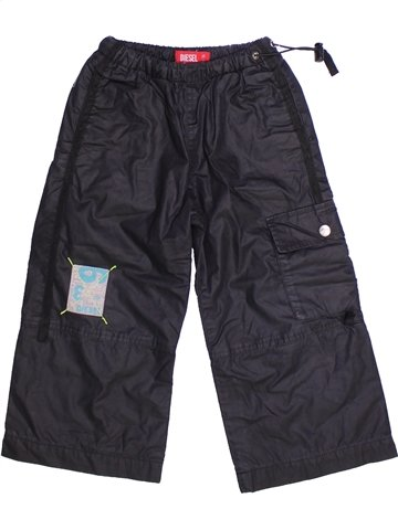Pantalon garçon DIESEL noir 3 ans hiver #1251287_1