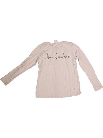 T-shirt manches longues fille ZARA bleu 14 ans hiver #1251601_1