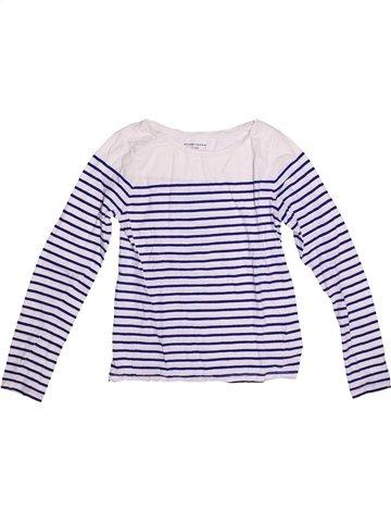 T-shirt manches longues fille MONOPRIX bleu 12 ans hiver #1251603_1