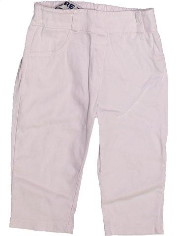 Pantalon fille CREEKS blanc 3 ans été #1251808_1