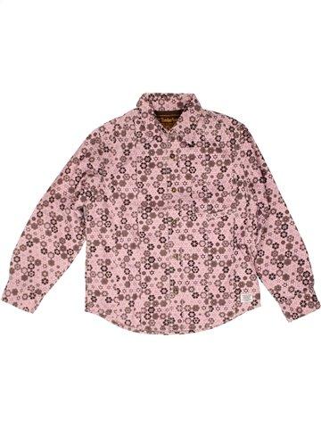 Camisa de manga larga niño TIMBERLAND rosa 8 años invierno #1252577_1
