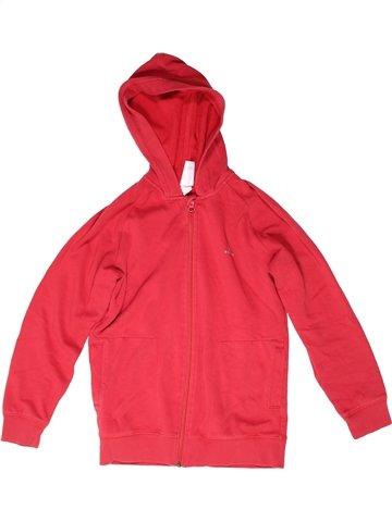 Sweat garçon DOMYOS rouge 10 ans hiver #1252610_1