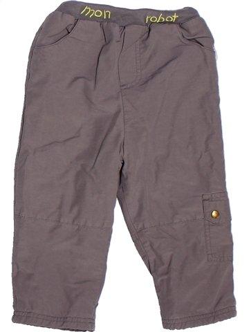 Pantalón niño TOUT COMPTE FAIT gris 2 años invierno #1252634_1