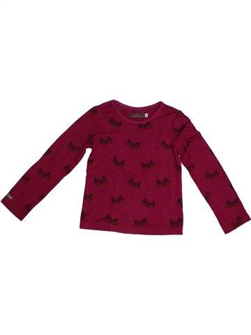Camiseta de manga larga niña CATIMINI violeta 4 años invierno #1253212_1