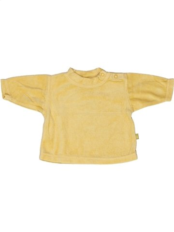 Pull unisexe HEMA jaune naissance hiver #1253774_1