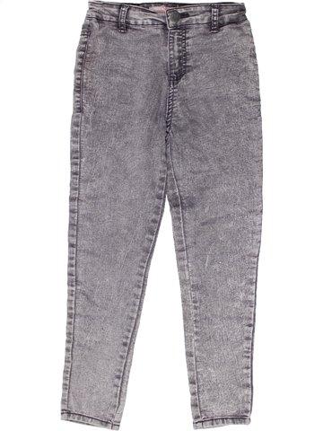 Pantalon fille MATALAN gris 8 ans hiver #1253893_1
