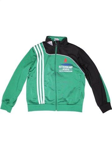 Sportswear garçon ADIDAS vert 10 ans hiver #1255246_1
