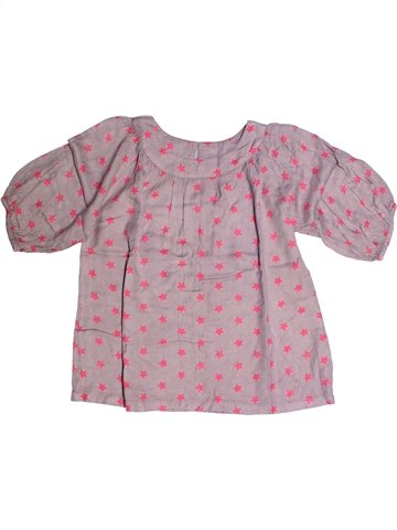 Blusa de manga corta niña 3 SUISSES beige 14 años verano #1255712_1