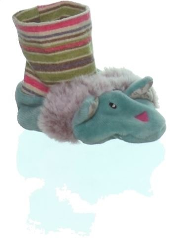 Chaussons fille MOULIN ROTY blanc 3 mois hiver #1255850_1