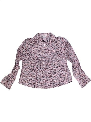 Blusa de manga larga niña CYRILLUS violeta 3 años invierno #1256128_1