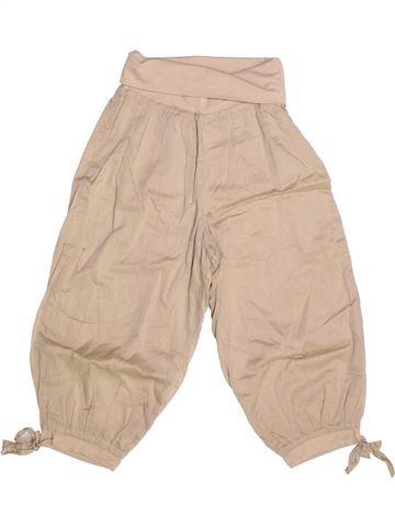 Pantalón corto niña CAPTAIN TORTUE beige 10 años verano #1257075_1