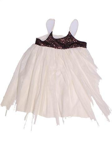 Robe fille CFK blanc 3 ans été #1257333_1