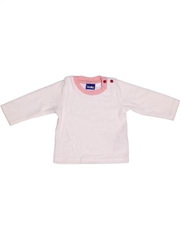 Pull fille LUPILU blanc 6 mois hiver #1257557_1
