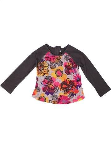 Camiseta de manga larga niña CATIMINI violeta 4 años invierno #1257569_1