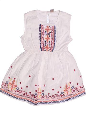 Robe fille TU blanc 6 ans été #1257608_1