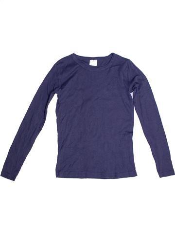T-shirt manches longues fille ALIVE bleu 12 ans hiver #1257948_1
