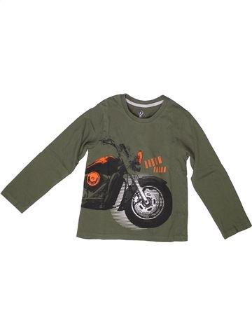 T-shirt manches longues garçon YCC-214 gris 8 ans hiver #1258225_1