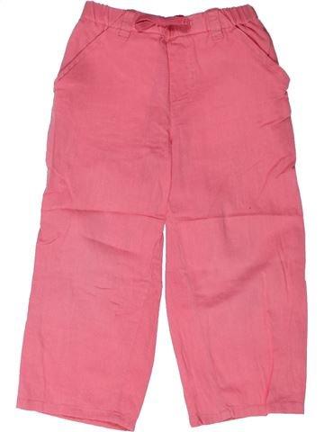 Pantalón niña BOUT'CHOU rosa 3 años verano #1258291_1