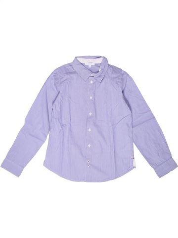 Chemise manches longues garçon JACADI gris 10 ans hiver #1258896_1