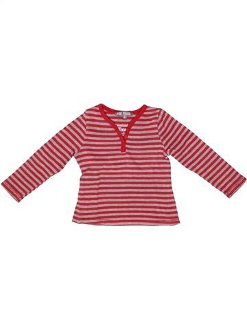 T-shirt manches longues fille VYNIL FRAISE violet 3 ans hiver #1259290_1