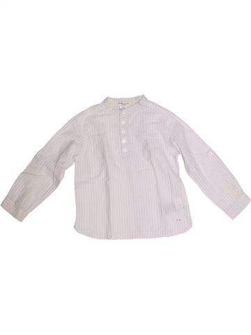 Chemise manches longues garçon CYRILLUS blanc 3 ans hiver #1259566_1