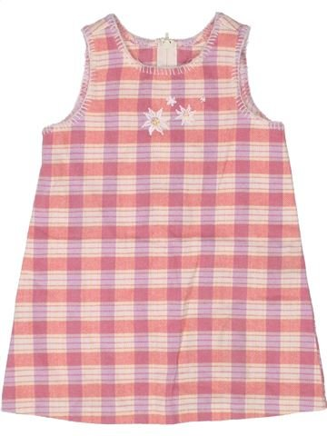 Robe fille BENETTON rose 2 ans hiver #1260155_1