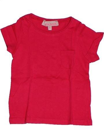 Camiseta de manga corta niña LISA ROSE rojo 2 años verano #1260322_1