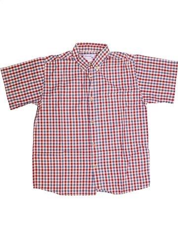 Chemise manches courtes garçon JACADI beige 12 ans été #1260405_1