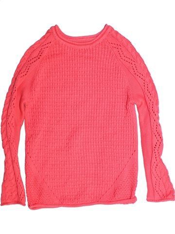 Pull fille MOTHERCARE rose 10 ans hiver #1260568_1