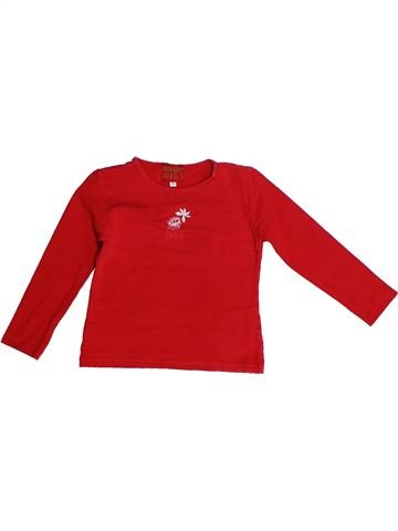 T-shirt manches longues fille KENZO rouge 2 ans hiver #1261090_1