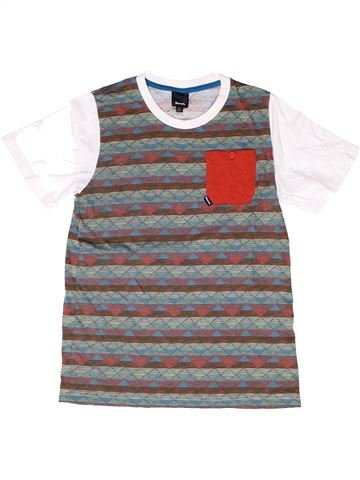 T-shirt manches courtes garçon BENCH gris 14 ans été #1262041_1