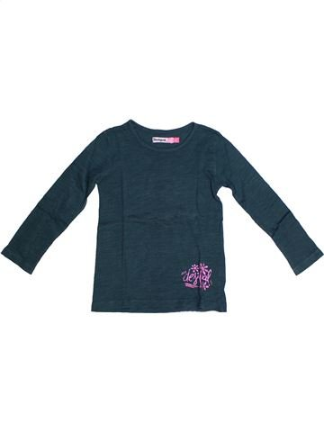 T-shirt manches longues fille DESIGUAL bleu 4 ans hiver #1262156_1