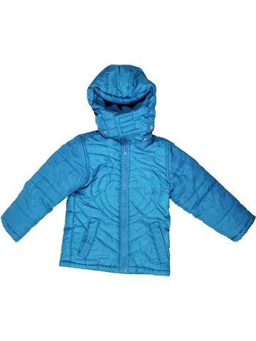 Plumífero niña SANS MARQUE azul 4 años invierno #1262183_1