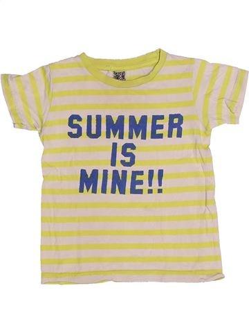 T-shirt manches courtes fille TAPE À L'OEIL beige 2 ans été #1262424_1
