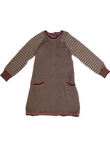 Robe fille TERRE DE MARINS marron 6 ans hiver #1262475_1