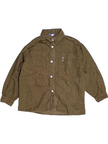 Chemise manches longues garçon IANA vert 5 ans hiver #1262657_1