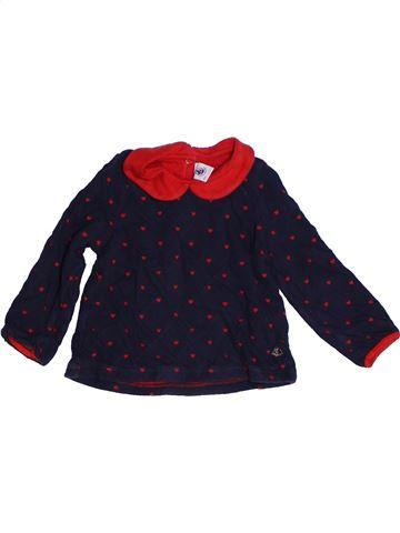 T-shirt manches longues fille PETIT BATEAU noir 2 ans hiver #1262962_1