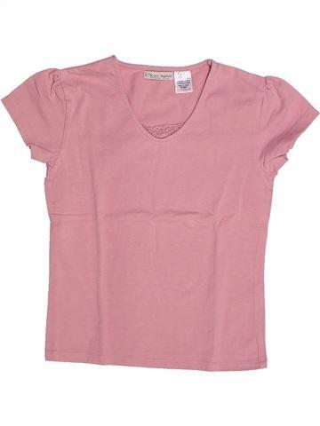 T-shirt manches courtes fille LA REDOUTE CRÉATION rose 9 ans été #1263148_1