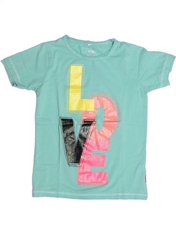 T-shirt manches courtes fille NAME IT bleu 12 ans été #1264008_1