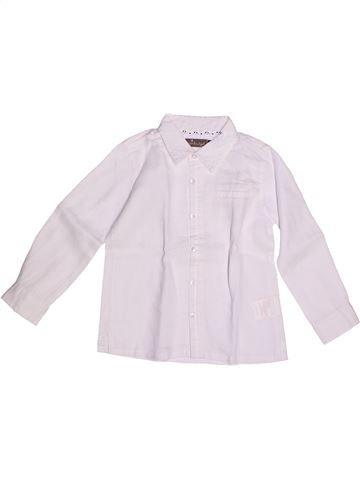 Camisa de manga larga niño JEAN BOURGET blanco 3 años verano #1266232_1