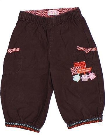 Pantalón corto niña LA COMPAGNIE DES PETITS marrón 3 años verano #1266306_1