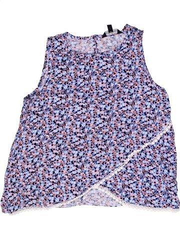 Blusa de manga corta niña CANDY COUTURE violeta 11 años verano #1266626_1