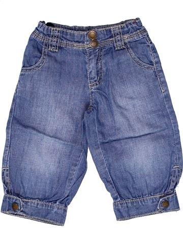 Pantalón corto niña VYNIL FRAISE azul 2 años verano #1267078_1