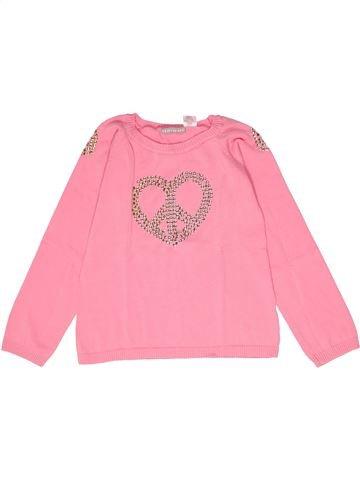 jersey niña LA REDOUTE CRÉATION rosa 10 años invierno #1267115_1