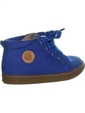 Chaussures à lacets garçon POM D'API bleu 19 hiver #1267150_1